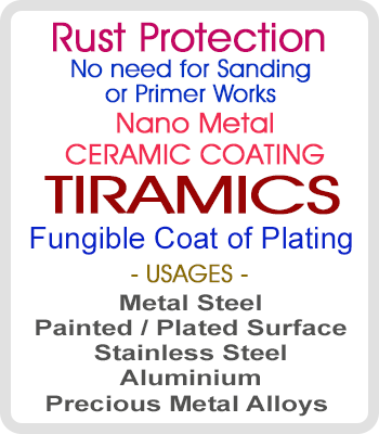 Tiramics  Nano Ceramic Clear Paint
