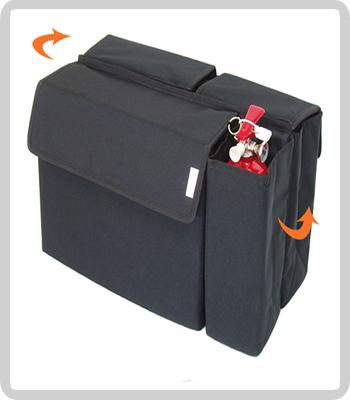 Car Trunk 4 Storages Organizer