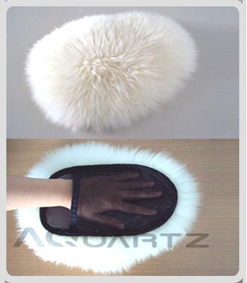 100% Wool Wash Mitt